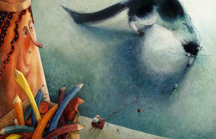 "Maya Shleifer illustration for ""On the Shelf""."