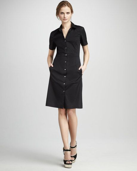 Shortsleeve Shirtdress