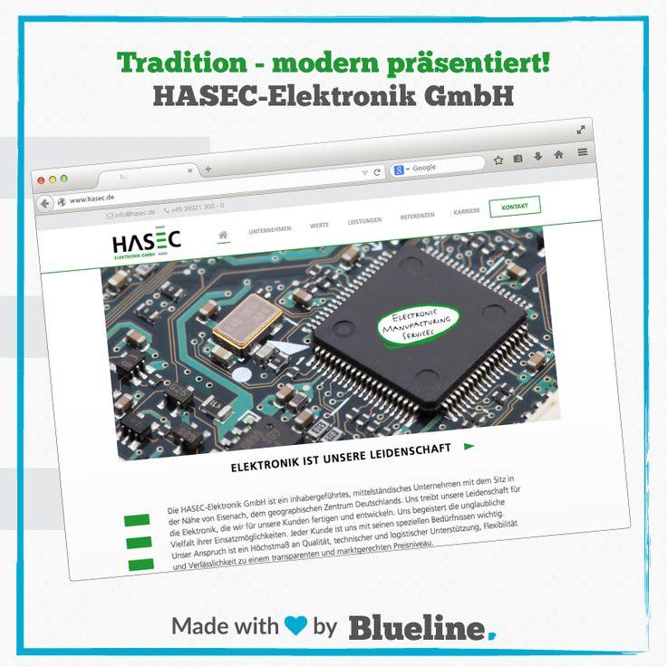 Anfang der Woche ging die neue Website der Firma HASEC-Elektronik GmbH aus Wutha-Farnroda online. Design und Programmierung stammen natürlich aus unserer Feder. Ein neuer Messestand und eine Unternehmensbroschüre sind in Arbeit. #b2b #marketing #agency #webdesign #design #webdevelopment
