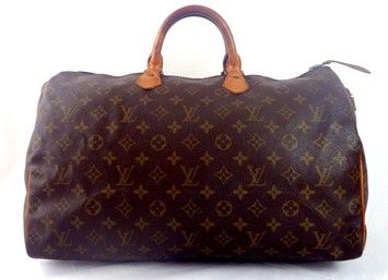 Louis Vuitton Speedy 40 - - Luggage Brown Bag - Satchel $545