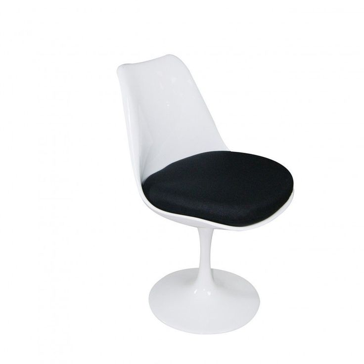 Mod Made Lily Swivel Dining Chair (Black) (ABS)
