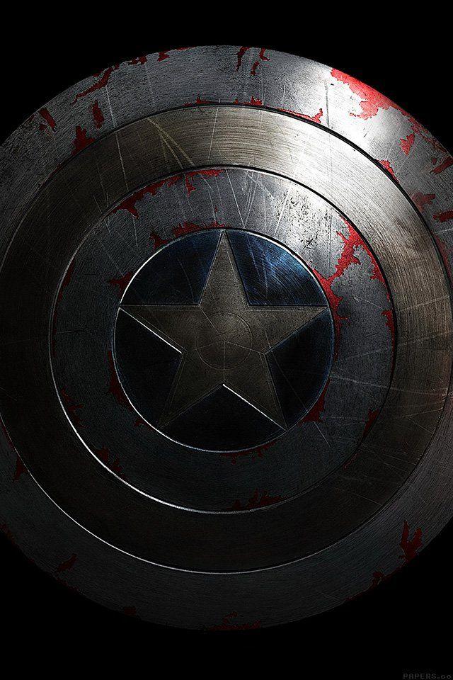 FreeiOS7 - al84-captain-america-avengers-hero-sheild-art-dark - http://bit.ly/1EUINgW - freeios7.com