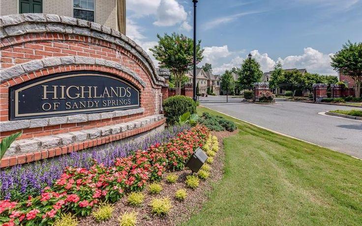 Highlands Of Sandy Springs Living!   North Atlanta Real Estate : North Atlanta Home Team : Remax Realtors Broker  : Buyers And Listing Agents : Georgia Homes For Sale
