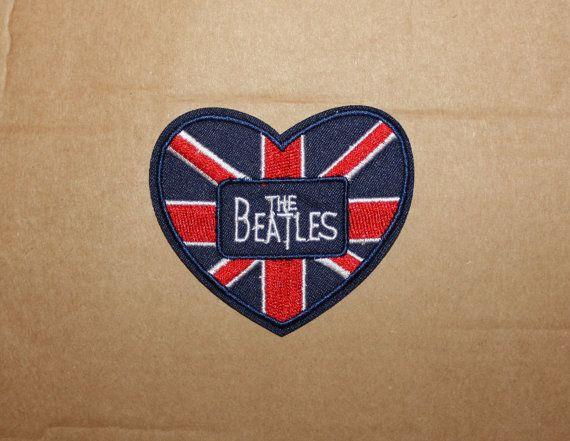 Das Beatles-Eisen auf Patch gestickt Logo Musik von PatchPalace