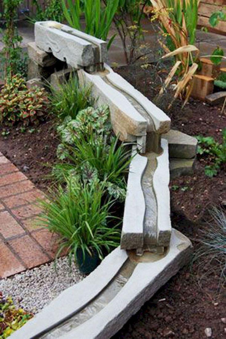 Beautiful backyard waterfall ideas (10)