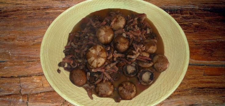 Funghi e pancetta della signora Maggot
