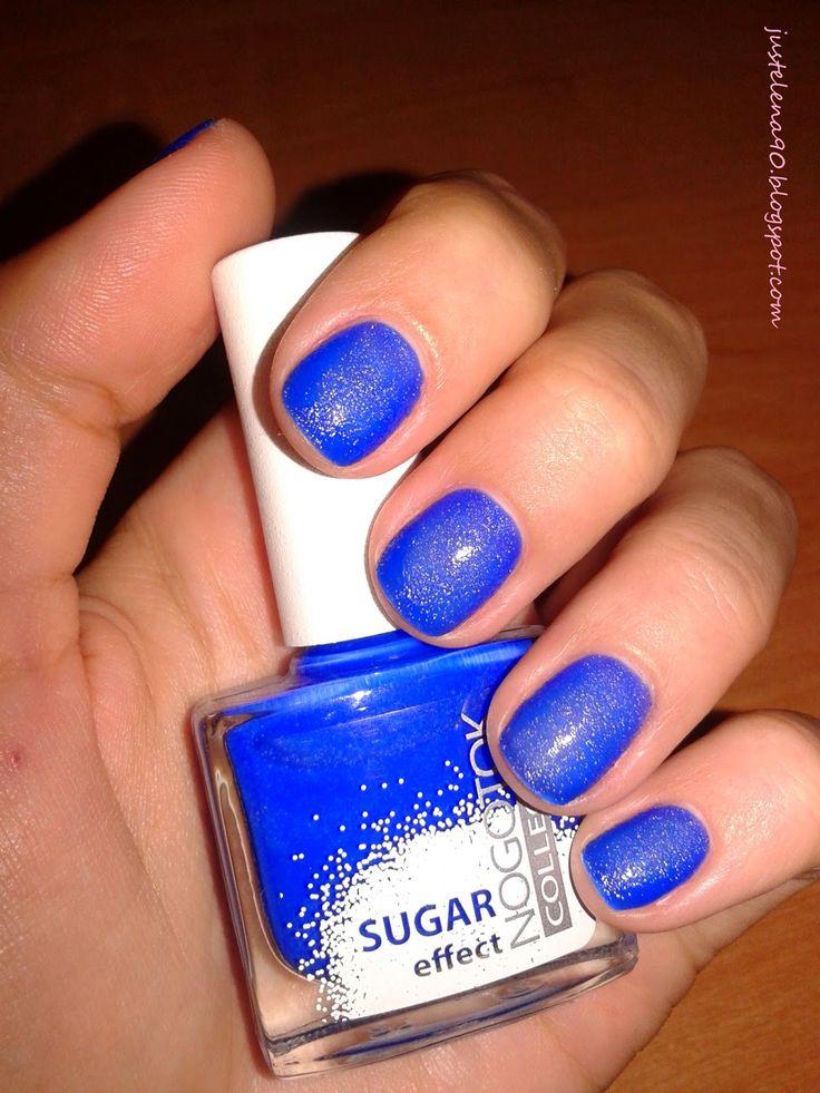 JustElena90 Beauty Blog: Summer 15DNC/ синие ногти/ день 13
