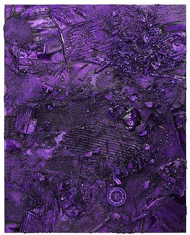 ANSELM REYLE  Untitled, 2009  Aluminum, chrome optics, patina  95 3/8 x 75 1/4 inches (242 x 191 cm)  8 versions at Gagosian