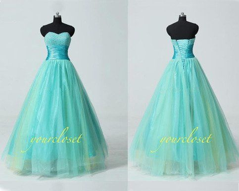 #handmade #vintage sweetheart #ball #gown / #prom dress / #evening #dress #girl #fashion #coniefox #2016prom