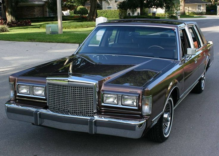 33 best Lincoln 1985-89 images on Pinterest | Lincoln town car ...