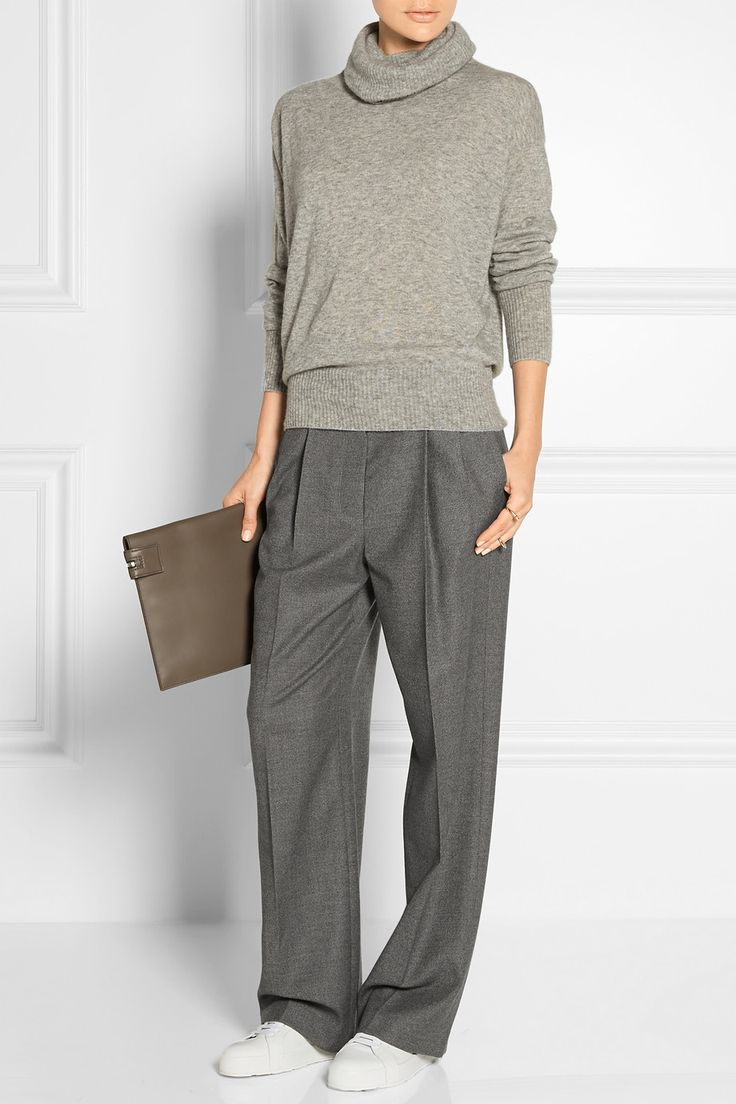 The Row | Caray stretch-wool wide-leg pants | NET-A-PORTER.COM
