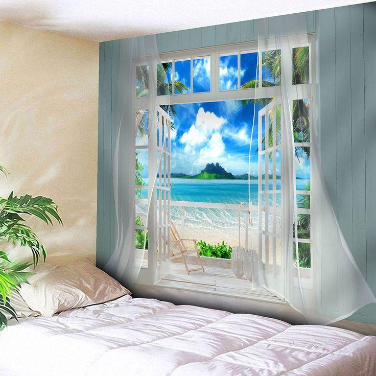 Cloud Window Curtains 3d Printing Nautical Home Decor: 25+ Best Faux Window Ideas On Pinterest