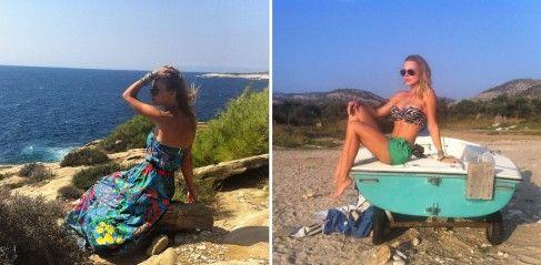 """Jojo a petrecut o vacanță de vis în Grecia. Uite cum s-a relaxat actrița și de la ce nu s-a putut abține: """"Mi-a fost greu să rezist..."""""""