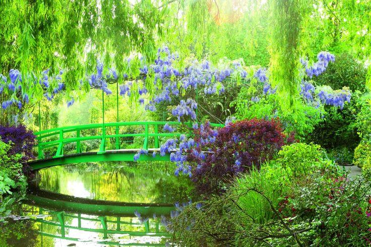 Tuinen van Monet nabij Parijs