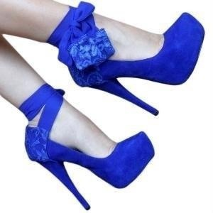 Most gorgeous blue shoes... I NEED!