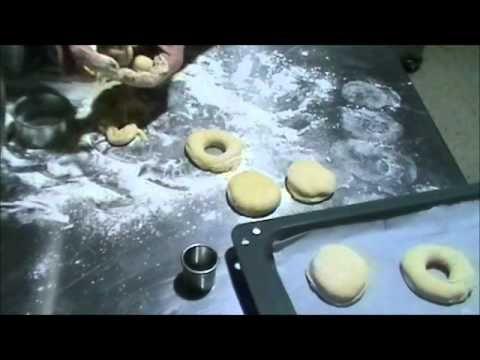 Ντόνατς στο φούρνο
