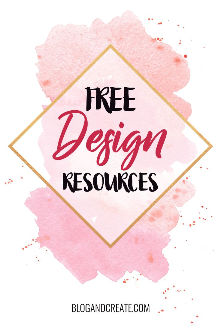Download thousands of free design elements with these links to graphic design shops. Get templates, mockups, vectors, brushes, styles and more. | free design resources, graphic elements, design templates | #DesignTips #BloggingTips #GraphicDesign