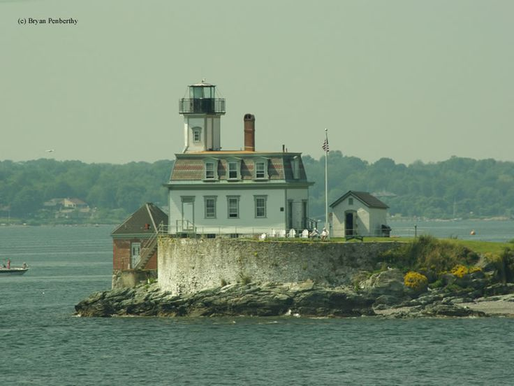 Rose Island Lighthouse. You can read more about it here: http://www.us-lighthouses.com/displaypage.php?LightID=415