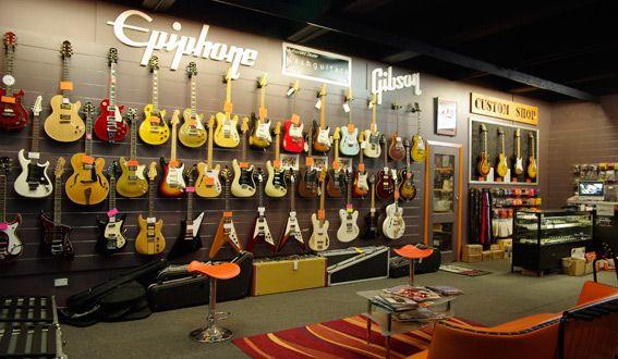 Guitar shop!