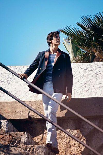 double-breasted Giorgio #Armani jacket