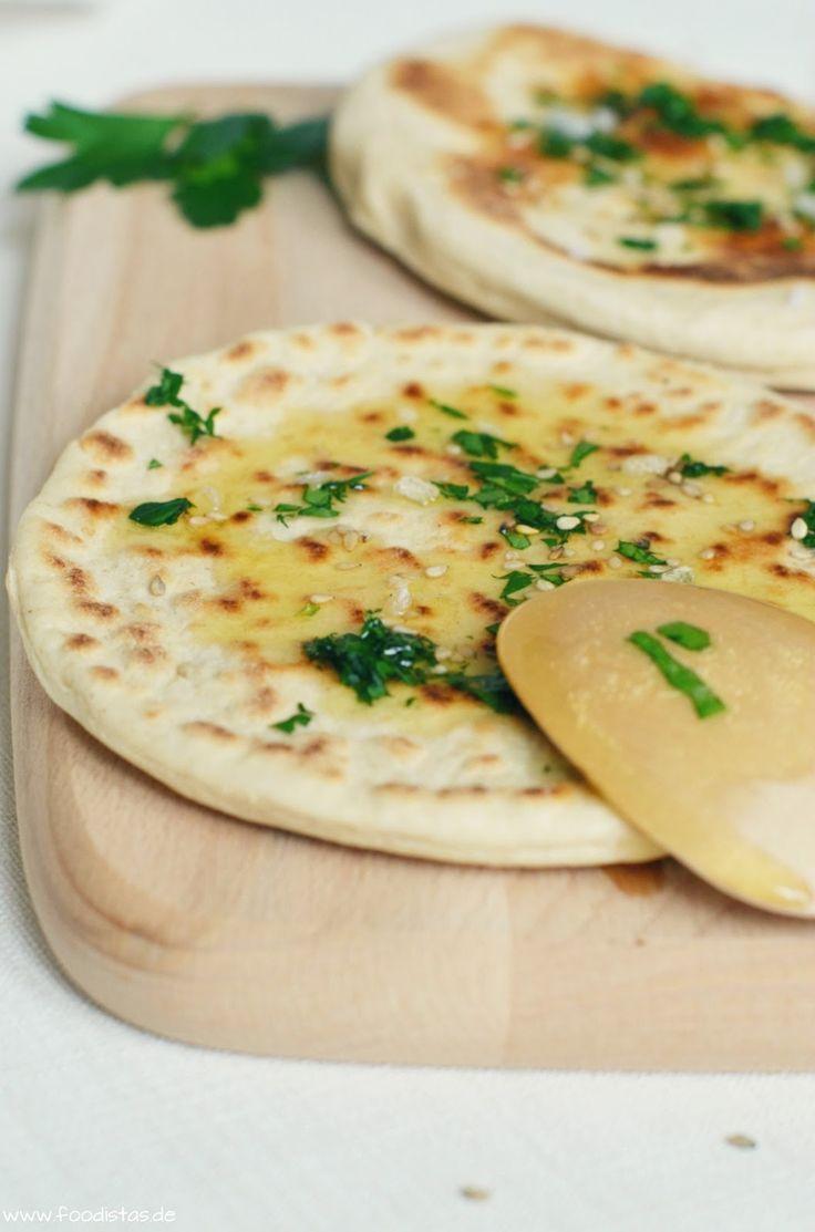 Experimente aus meiner Küche: Indisches Naan Brot #breadbakingfriday