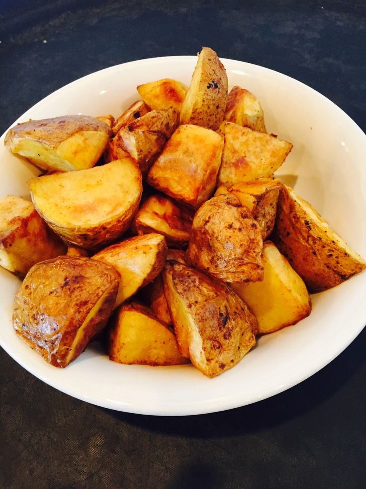 FAMILY STYLE SERVICE: Roasted Potatoes