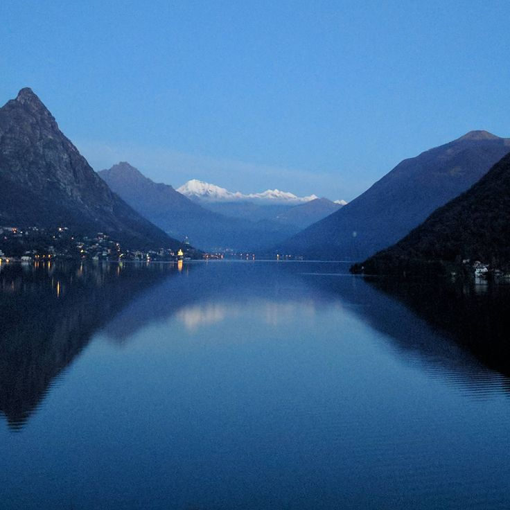 Lake Lugano, Switzerland view from a gas station tonight  - #funny #lol #viralvids #funnypics #EarthPorn more at: http://www.smellifish.com