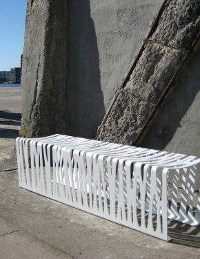 Bench Steel Zebra   Concept Urbain   Fabricant De Mobilier Urbain U2013 Street  Furniture Manufacturer