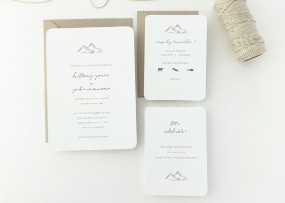 The 32 best Wedding Invites images on Pinterest Invites Wedding