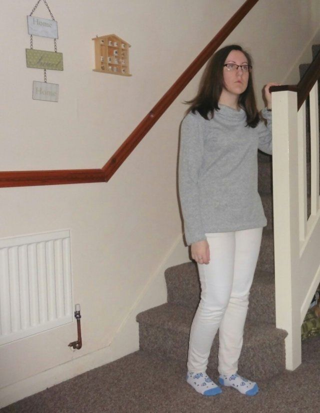 My second Coco jumper was a great scrap buster and has become another wardrobe staple.