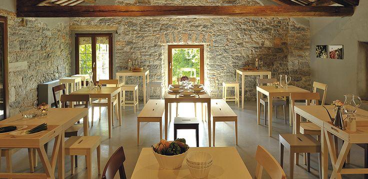 Calligaris italian tables for 3 stars hospitality and elegant restaurants