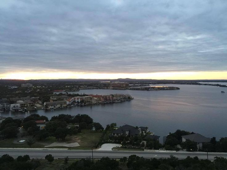 The view from St. Paul the Apostle Church in Horseshoe Bay, TX.  Photo by Paulist Fr. Eric Andrews on September 29, 2016.