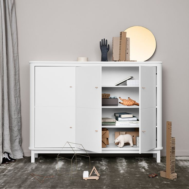 Wood Collection Multi Cupboard by Oliver Furniture.