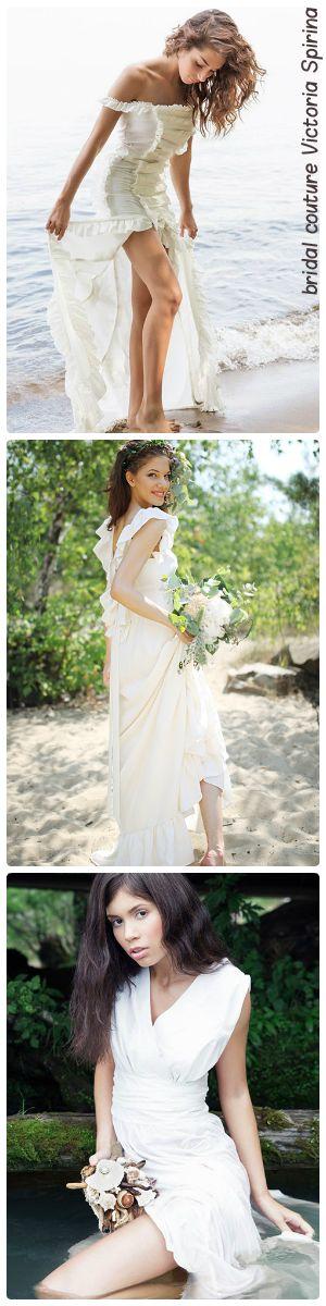 Единственная в мире коллекция свадебных платьев  для пляжной церемонии  sand in…