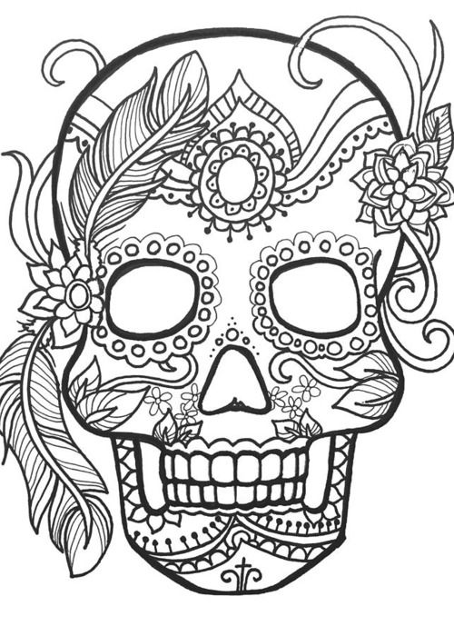 25 Best Ideas About Sugar Skull Design On Pinterest
