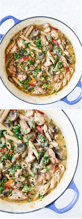 Creamy Cajun Chicken Pasta - this meal is so delicious I can't even handle it. I howsweeteats.com