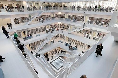Stuttgart City Library — Stuttgart, Germany   49 Breathtaking Libraries From All Over The World