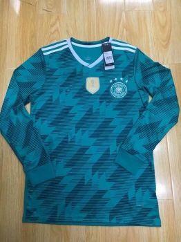 9442719095c 2018 World Cup Jersey Germany LS Away Replica Green Shirt  BFC984 ...
