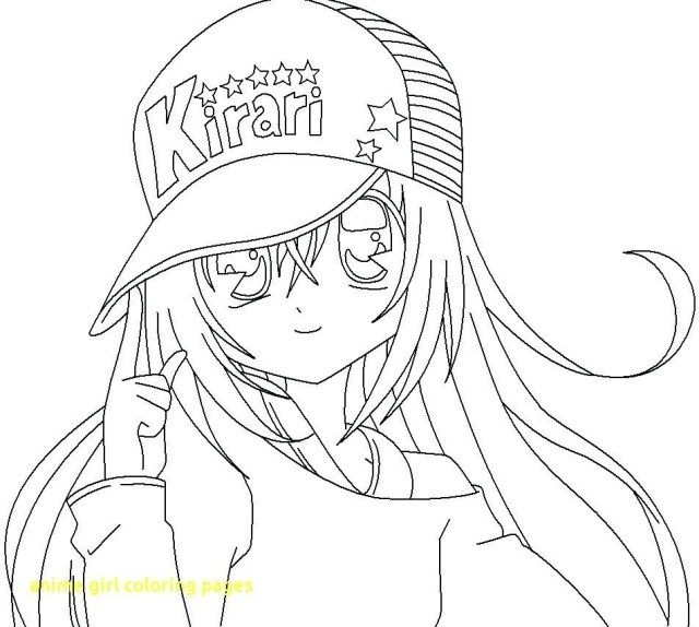 Anime For Colouring Background
