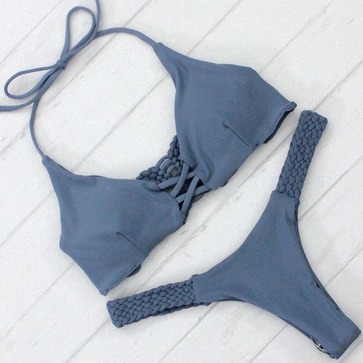 Rosa Bikini Set - Slate