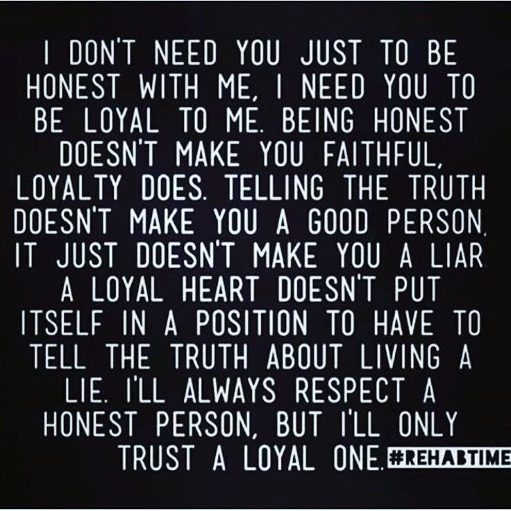 Loyalty is everything.  #loyal#loyalty#inspiration#truth#relationships#rehabtime#trust#realtalk#repost from @jacque_wayne1