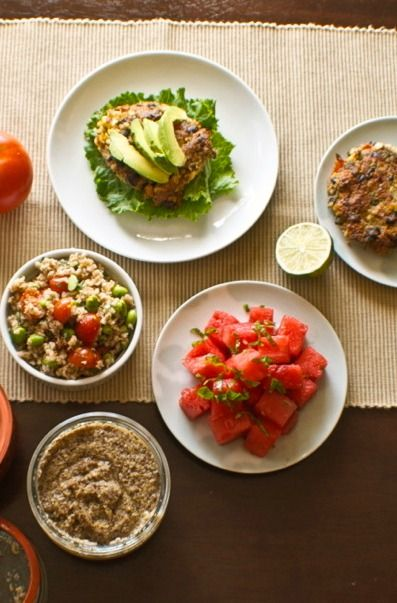 Looking for something that is compatible with dietary restrictions—yet still super delicious? Check out these tasty recipes for Veggie Burgers, Watermelon Salad with Jalapeno and Lime, or Bulgur Salad with Edamame and Tomatoes!