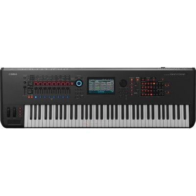 Yamaha Montage 7 - Le synthétiseur Yamaha MONTAGE 7 doté du Motion Control Synthesis Engine réunit deux systèmes de génération sonore : AWM2 (synthèse soustractive à base de formes d'onde de haute qualité) et FM-X, une version moderne de la synthèse FM avec des racines légendaires.