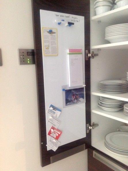 Custom Sized Kitchen Whiteboards