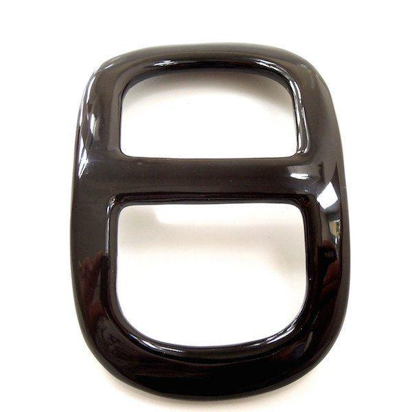 Shawl ring - Black horn - MaiTai Collection  - 1