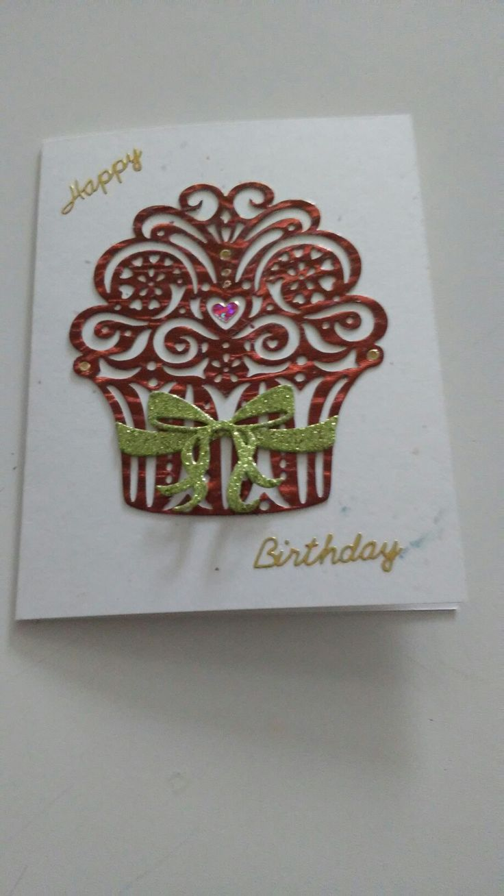 Used Simply Define Blow. Out the Candle die to make this cute card.