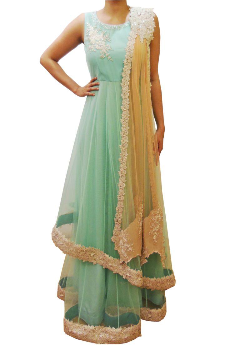 Anarakali dresses online at indian fashion online store Scarlet Bindi