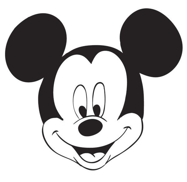 mickey mouse disney drawing tarta draw drawings characters plantilla should face micky plantillas maus character always paper traditional learn marilo