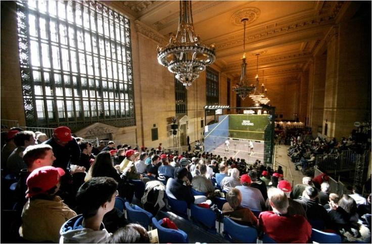 Squash in Grand Central