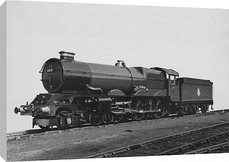 No 6015 King Richard III Canvas Print, King Class Locomotives, Standard Gauge, Locomotives c/o STEAM Picture Library